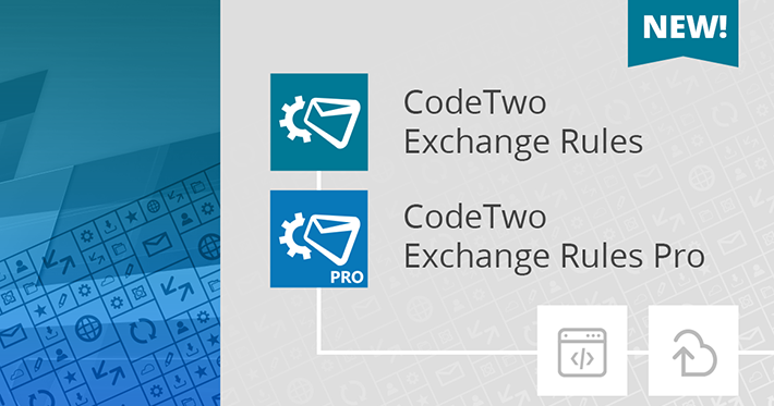 CodeTwo Exchange Rules - new signature editor, template library & more