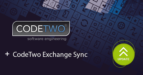 Update to CodeTwo Exchange Sync - synchronize Exchange folders on Exchange 2016.