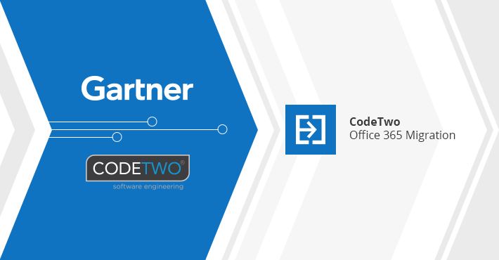 CodeTwo once again recognized as a Representative Vendor by Gartner