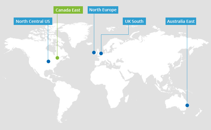 Canada East - a new geolocation for CodeTwo Email Signatures for Office 365
