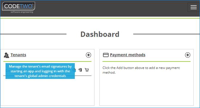 Launch Manage Signatures App