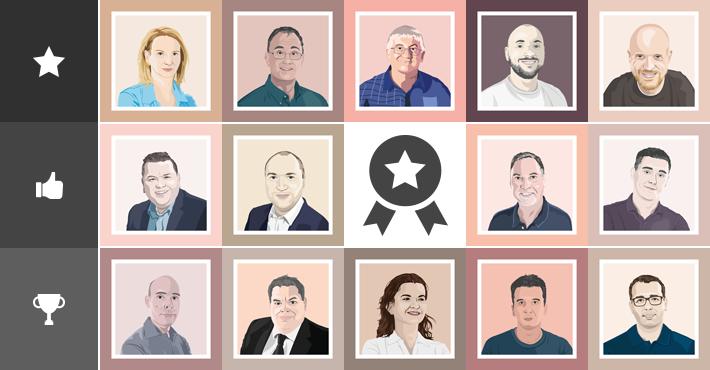 Microsoft MVP portraits