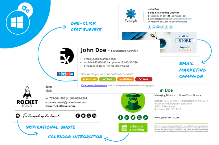 Office 365 custom attributes in email signatures