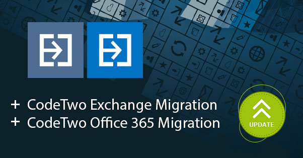 CodeTwo migration solutions: Update