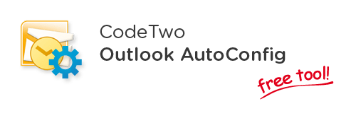 Download CodeTwo Outlook AutoConfig