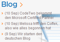 CodeTwo Blog in German