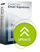 CodeTwo Email Signatures update