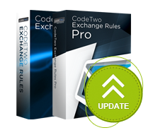 Update of CodeTwo Exchange Rules PRO and CodeTwo Exchange Family