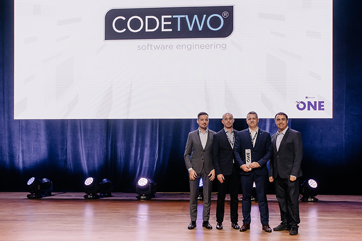 CodeTwo awarded Microsoft 2019 Partner of the Year Award.