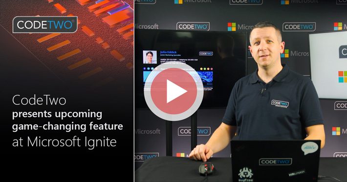 CodeTwo showcases game-changing update to client-side signatures at Microsoft Ignite