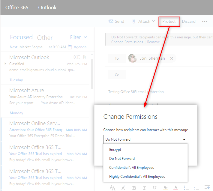 Office 365 message protection & CodeTwo software 2