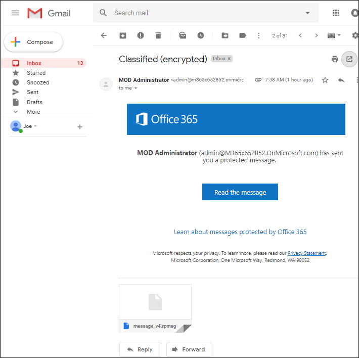 Office 365 message protection & CodeTwo software 3