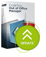 CodeTwo Out of Office Manager update
