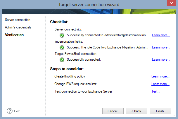 The Exchange Server migration checklist