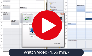 Watch a short movie about CodeTwo Outlook Sync
