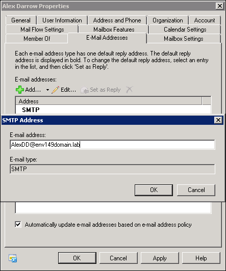 How to fix problems related to the primary SMTP address in CodeTwo