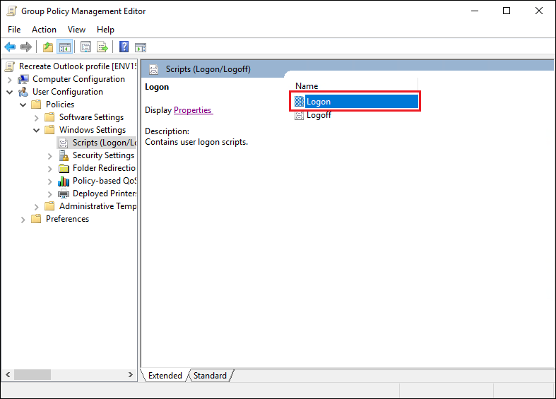 run batch file on startup registry