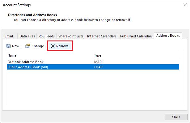 Outlook 2007 Cant Offline Address Book