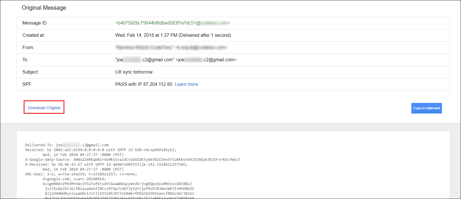 How to export an email message to the MSG and EML format