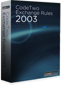 CodeTwo Exchange Rules 2003