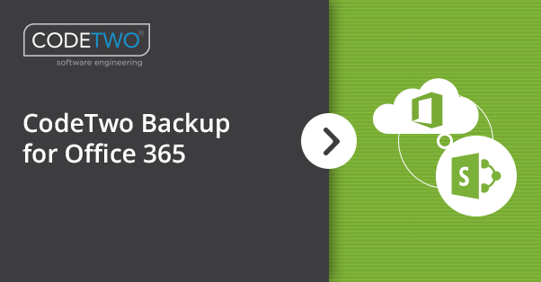 Office 365 backup software | CodeTwo