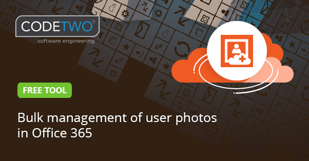 Free tool for Office 365 user photos management