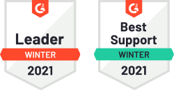G2 Winter report badges for CodeTwo Email Signatures for Office 365
