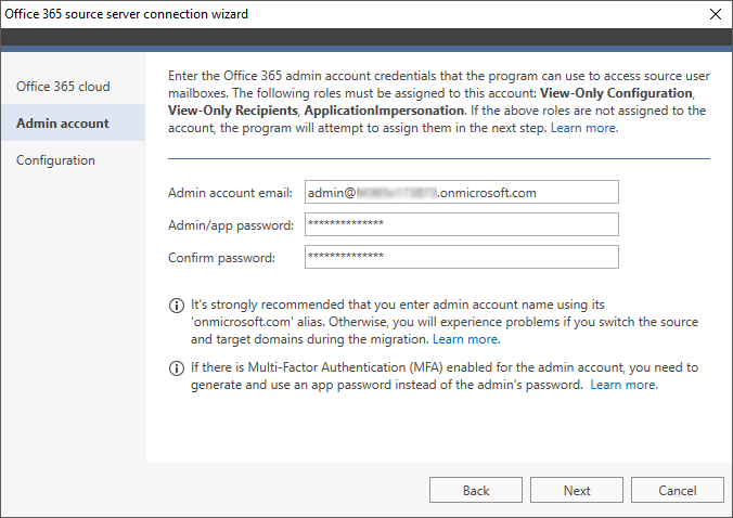 How to - Connect to source Office 365   CodeTwo Office 365