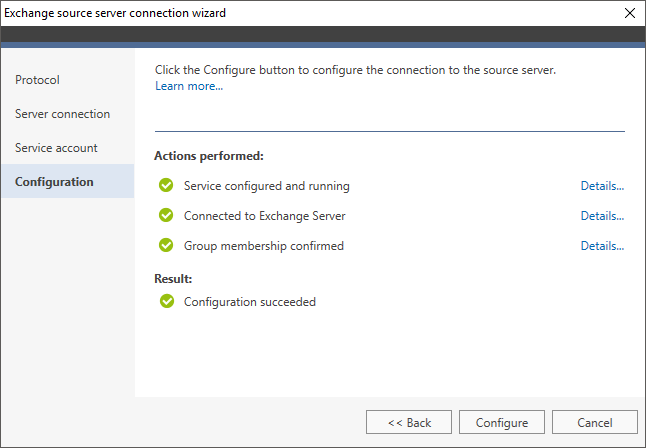 How to - Connect to a source Exchange server | CodeTwo Office 365