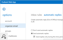 Out of Office message set remotely by the administrator or the manager for a selected user - it will be automatically added to an Exchange or Office 365 user account.