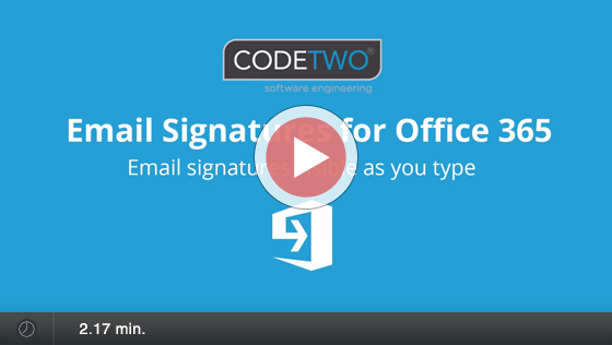 Signatures visible as you type - ESIG Office 365