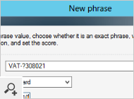 The program fully supports phrases based on wildcards and regular expressions.