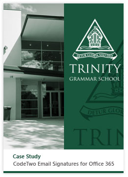 ESig for Office 365 - CS - Trinity School cover