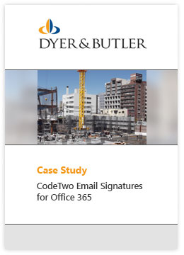 Email Signatures Office 365 CS Dyer and Butler