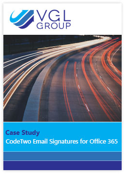 Email Signatures Office 365 CS VGL Group