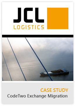 Exchange Migration Case Study JCL Logistics AG