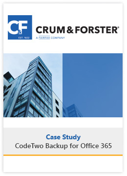 Case Study Office 365 Backup Crum & Forster