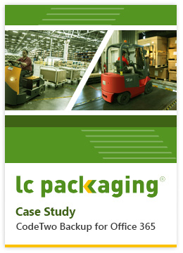Backup for Office 365 Case Study LC Packaging