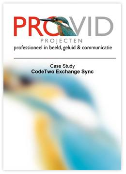 Case Study by Provid Projecten - CodeTwo Exchange Sync