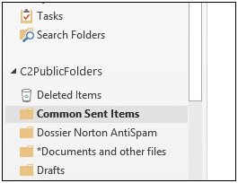How to automatically move mail to a specified folder
