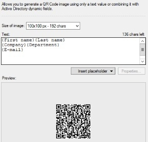 Dynamic QR codes generator small