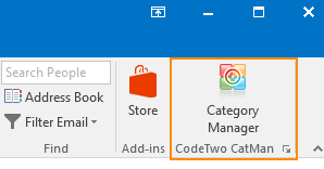 CodeTwo CatMan in Outlook small
