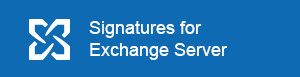 Email Signatures for Exchange Server