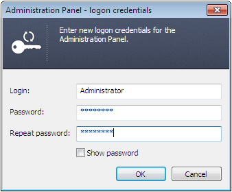 Login to the Syncing Master Administration Panel.