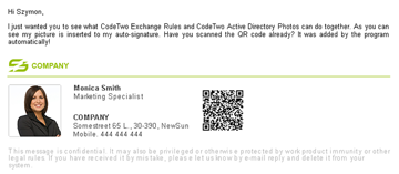 Exchange Rules - QR codes in email thumb 1