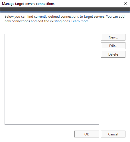 Office 365 Migration Target connection