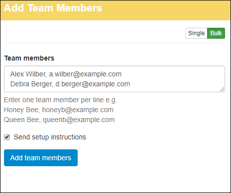 Hively add team members