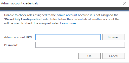 O365 Migration troubleshooting providing admin crd