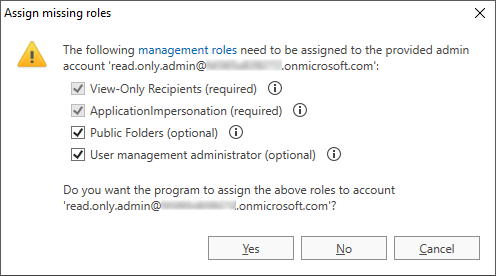O365 Migration troubleshooting rec assigning roles