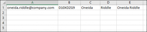 Exchange Migration - valid CSV file created in Excel